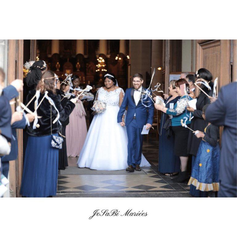 A line long sleeve plus size wedding dress